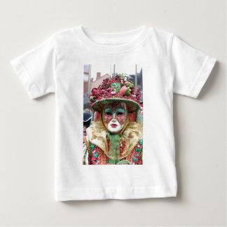 Ornate Porcelain Chinese Mask Tshirt