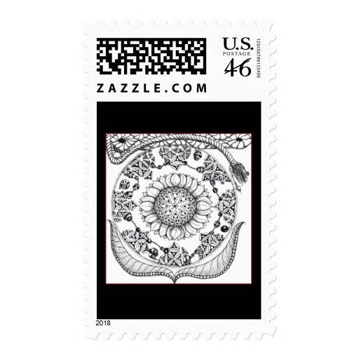 Ornate Postage Stamps