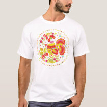 Ornate Rooster T-Shirt