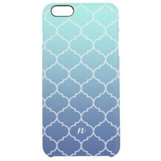 Ornate Sea Breeze Clear iPhone 6 Plus Case