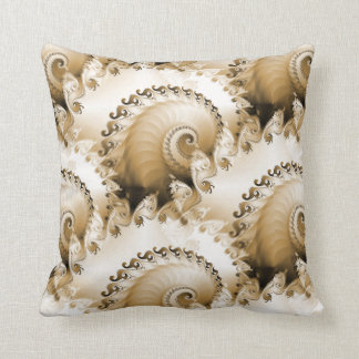 Ornate Seashells Mojo Pillow