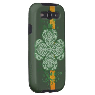 Ornate Shamrock Samsung Galaxy S3 Vibe Case Galaxy SIII Covers