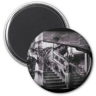 Ornate Stairwell D Deck 2 Inch Round Magnet