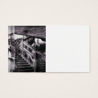 Ornate Stairwell D Deck Business Card
