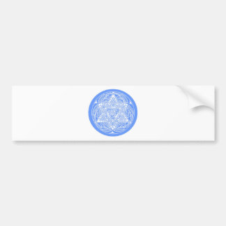 Ornate Star of David Bumper Sticker