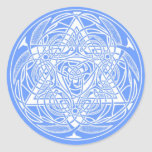 Ornate Star of David Stickers