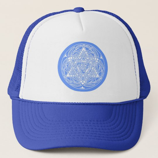 Ornate Star of David Trucker Hat