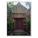 Ornate Stone Doorway Cards