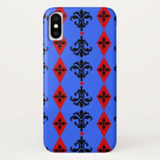 Ornate Stripe iPhone X Case
