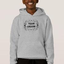 Ornate Team Groom Hoodie