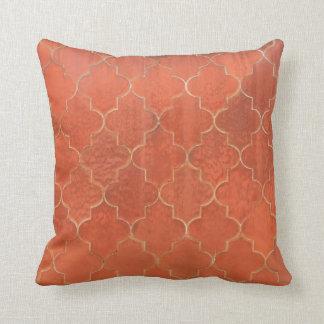 Ornate Tile Pattern Pillow
