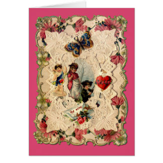 Ornate Victorian Valentine Card
