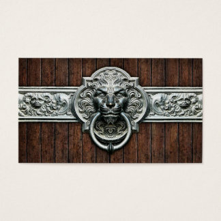 Ornate Vintage doorknocker #1D general purpose Business Card