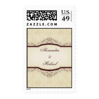Ornate Vintage Stamps