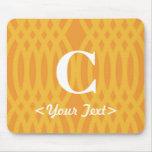 Ornate Woven Monogram - Letter C Mouse Mat