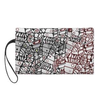 ornate wristlet purse