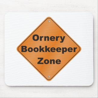 Ornery Bookkeeper Mousepads