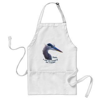 Ornery Heron Apron
