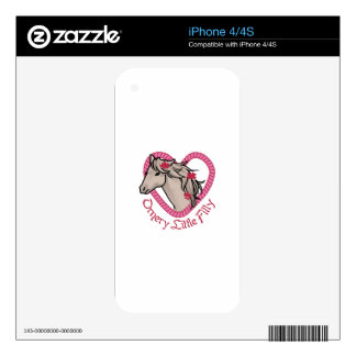 Ornery Little Filly Skin For The iPhone 4S