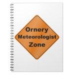 Ornery Meteorologist Zone Journal