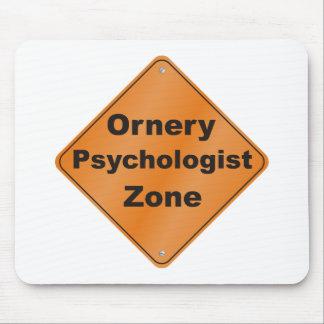 Ornery Psychologist Mousepad