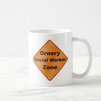 Ornery Social Worker Coffee Mug