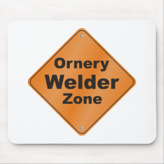 Ornery Welder Mouse Pad