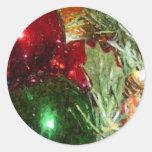 orniments classic round sticker