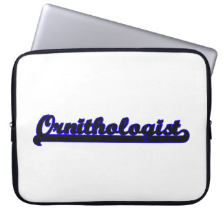 Ornithologist Classic Job Design Computer Sleeves