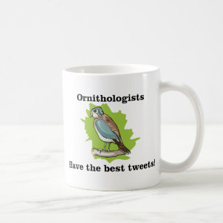 Ornithologists have the Best Tweets Classic White Coffee Mug