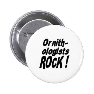 Ornithologists Rock! Button