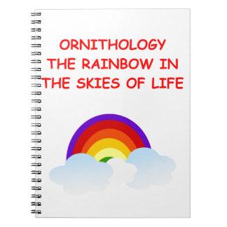 ornithology note book