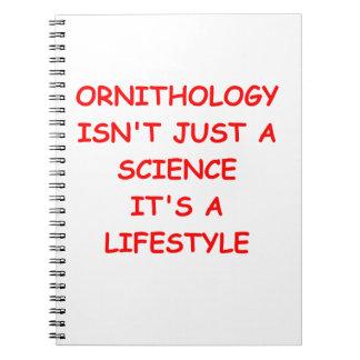 ornithology notebook