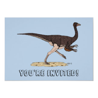 Ornithomimus Card