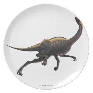 Ornithomimus Plates