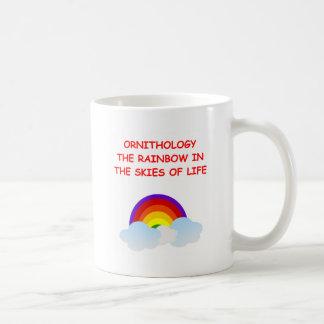 ornitología tazas de café