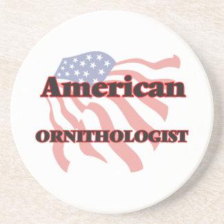 Ornitólogo americano posavasos personalizados