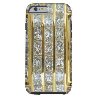 Oro amarillo y caso del iPhone 6 del arte del Funda Para iPhone 6 Tough