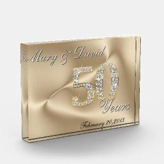 Oro aniversario de 50 años
