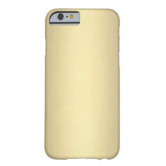 Oro antiguo funda barely there iPhone 6