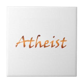 Oro ateo azulejo cuadrado pequeño