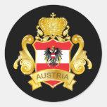Oro Austria Pegatinas