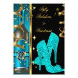 Oro azul 50 del trullo y cumpleaños fantástico fab anuncios personalizados
