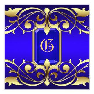 Oro azul de la grande duquesa joya e invitación