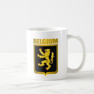 """Oro belga "" Taza Básica Blanca"