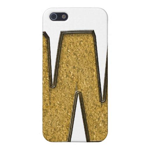 oro bling W iPhone 5 Funda