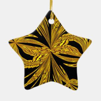 Oro botánico abstracto ornato