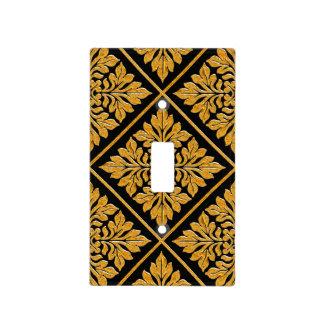 Oro brillante brillante de la teja inglesa antigua tapas para interruptores