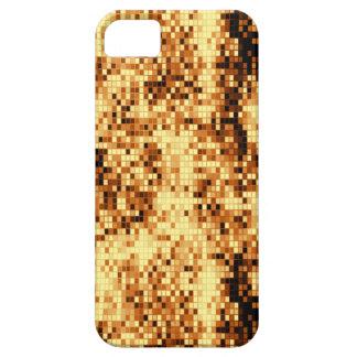 Oro brillante funda para iPhone 5 barely there