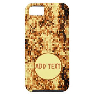 Oro brillante tejado iPhone 5 Case-Mate carcasas
